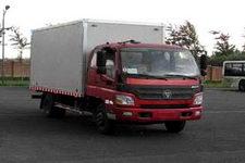 福田欧马可国三单桥厢式运输车156马力5-10吨(BJ5129VJCED-FA)