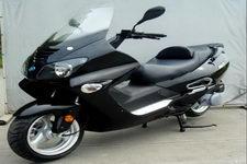 杰士达牌JSD150T-22A型两轮摩托车