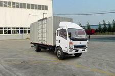 重汽HOWO轻卡国四单桥厢式运输车113-116马力5-10吨(ZZ5127XXYD3415D1)