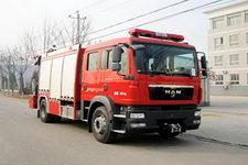中卓时代牌ZXF5130TXFJY100型抢险救援消防车