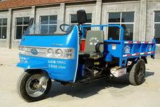 金蛙牌7YP-1150D2-2型自卸三轮汽车