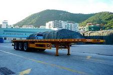 蛇口港机牌SGJ9320TP型平板式半挂车图片