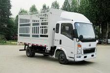 重汽HOWO轻卡国四单桥仓栅式运输车99-116马力5吨以下(ZZ5047CCYD3415D145)