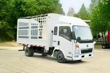 重汽HOWO轻卡国四单桥仓栅式运输车99-116马力5吨以下(ZZ5047CCYD3414D145)