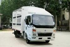 重汽HOWO轻卡国四单桥仓栅式运输车87-95马力5吨以下(ZZ5047CCYC3414D145)