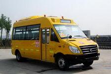 晶马牌JMV6660XF型专用小学生校车图片