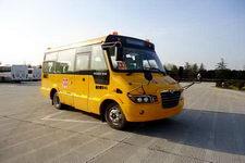 海格牌KLQ6606XQE4A型小学生校车图片