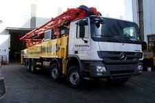 城市猎豹牌HDL5431THB型混凝土泵车