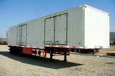黄海14.6米31.5吨3轴厢式运输半挂车(DD9401XXY)