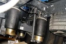 常奇牌ZQS5260JHQ型后栏板起重运输车图片