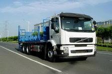 常奇牌ZQS5260JHQ型后栏板起重运输车