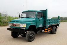 钦机牌QJ5820CDS型自卸低速货车
