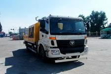 欧曼牌BJ5133THB-XA型车载式混凝土泵车
