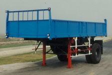 沪光5.6米10吨1轴自卸半挂车(HG9130ZE)