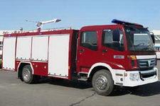 飞雁牌CX5143GXFSG50型水罐消防车