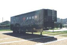 蓝速12米02轴电视半挂车(BYN9190XDS)