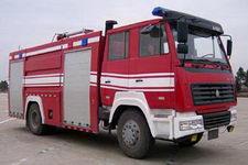 飞雁牌CX5190GXFSG80T型水罐消防车