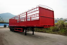 粤工牌SGG9390TC型仓栅式运输半挂车