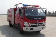 飞雁牌CX5110GXFSG50F型水罐消防车