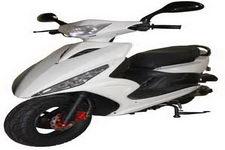 杰士达牌JSD50QT-4A型两轮轻便摩托车图片