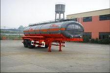 陆氏牌LSX9341GHY型化工液体运输半挂车