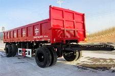 蒙凯牌MK9140ZX1型自卸牵引杆挂车图片