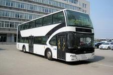 宇通牌ZK6116CHEVGS2型混合动力双层城市客车图片