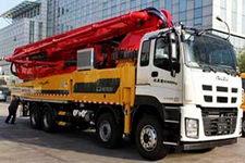 城市猎豹牌HDL5420THB型混凝土泵车