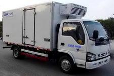 中集牌ZJV5040XLCSH型冷藏车