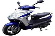 建设牌JS48QT-B型两轮轻便摩托车图片