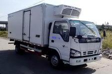 中集牌ZJV5070XLCSH型冷藏车