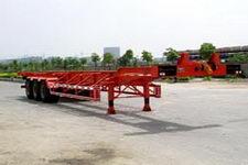 金龙14.1米30.5吨3轴集装箱运输半挂车(NJT9371TJZ)
