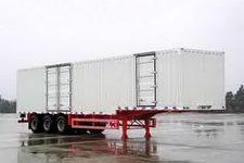 金龙13米31吨3轴厢式运输半挂车(NJT9390XXY)