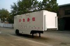 中集牌ZJV9100XTX型通讯半挂车图片