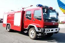 飞雁牌CX5161GXFSG55型水罐消防车