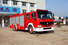 江特牌JDF5190GXFAP70Z型A类泡沫消防车