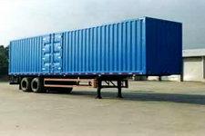 金龙13米20吨2轴厢式运输半挂车(NJT9270XXY)