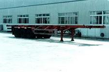 金龙12.4米31吨3轴集装箱运输半挂车(NJT9370TJZ)