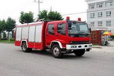 中卓时代牌ZXF5150GXFAP50型A类泡沫消防车