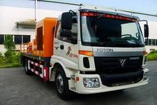 粤工牌SGG5131HBC型混凝土车载泵车