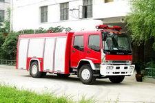 隆华牌BBS5160GXFPM60W型泡沫消防车