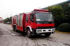 鸡球牌SZX5240GXFPM110W型泡沫消防车