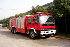 鸡球牌SZX5240GXFSG110W型水罐消防车图片