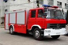 隆华牌BBS5140GXFPM60D型泡沫消防车