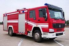飞雁牌CX5190GXFSG72型水罐消防车