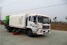 三力牌CGJ5120TQS型清洗扫路车图片