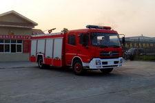 江特牌JDF5150GXFPM60T型泡沫消防车
