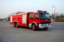 江特牌JDF5240GXFPM110W型泡沫消防车