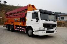 粤工牌SGG5250THB28型混凝土泵车