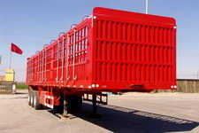 飞花牌HBX9401CCY型仓栅式运输半挂车